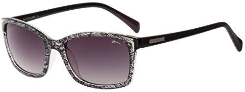 RELAX Gafas de Sol Mujer Anteojos para el Sol de Señora R0302B Negro