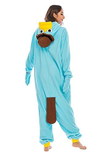 Animales Pijamas para Unisexo Adulto Cosplay Disfraz de Invierno,LTY117,S