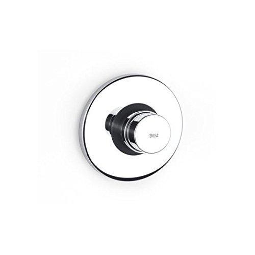 Roca Sprint - Grifo de paso recto temporizado empotrable para urinario con rosetón redondo . Griferías hidrosanitarias especiales. Ref A5A9024C00