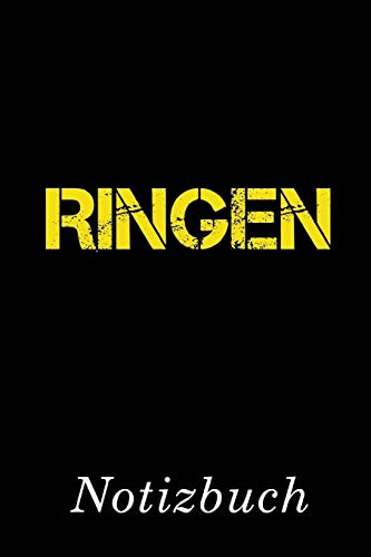 Ringen Notizbuch: | Notizbuch mit 110 linierten Seiten | Format 6x9 DIN A5 | Soft cover matt |