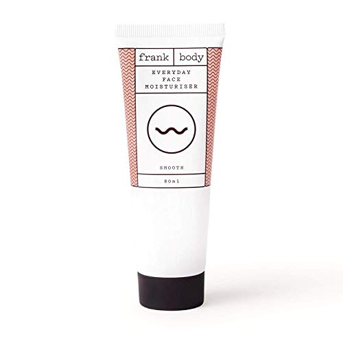 Frank Body Caffeinated Face Moisturizer - 100% Natural, Vegan, & Cruelty Free - Made with Coffee, Shea Butter, & Vitamin E - Nourishing Hydration for Smooth Glowing Skin - (2.7 Oz.)