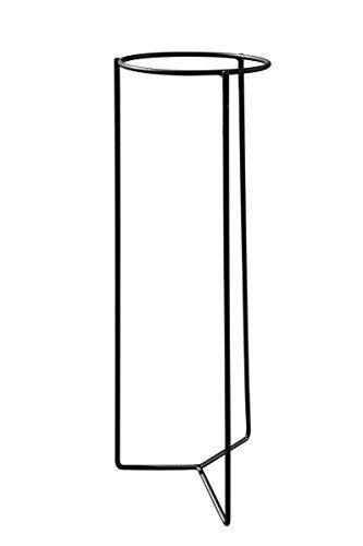 Louis Moulin Tripode Porte-Plante intérieur, Gris Martelé, 23,8 x 23,8 x 78 cm