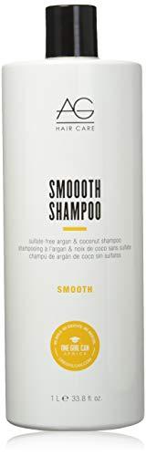 AG Hair Smooth Sulfate-Free Argan & Coconut Shampoo, 33.8 Fl Oz