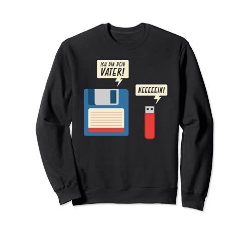 Ich Bin Dein Vater Diskette USB Stick Nächste Generation Sweatshirt
