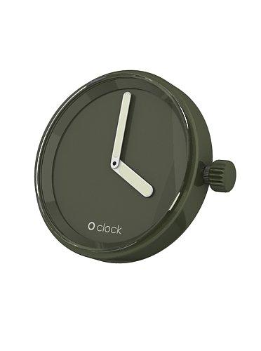 Fullspot O clock Cassa Verde Oliva MEC.VO - Orologio da polso Unisex