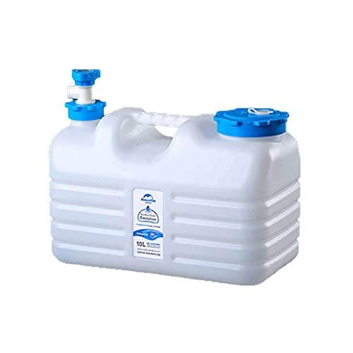 YNWUJIN 10L/12L/18L/24L Outdoor Pure Drinking Water Buckets, Food-Grade Packaging Water Tanks, Mineral Water Buckets, Plastic Water Tanks, On-Board Household Water Storage Buckets,10L