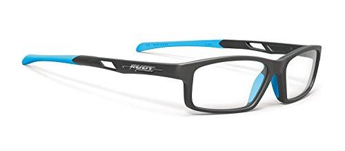 RUDY PROJECT Brillen Gafas de Vista INTUITION SMALL A MATTE BLACK SKY ASIAN FIT NOSE PADS 53/17/138 Unisex