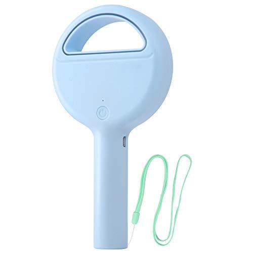 Cevapro Portable Fan, Bladeless Handheld Fan with Safe Design Mini Personal Fan USB Rechargeable Table Fan Desk Fan for Home Office Outdoor Travel