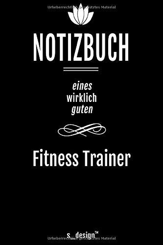 Notizbuch für Fitness Trainer: Originelle Geschenk-Idee [120 Seiten liniertes DIN A6 blanko Papier]