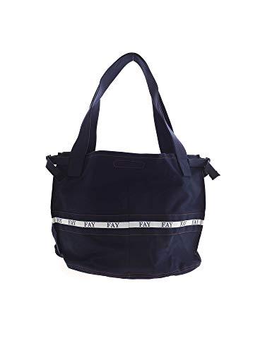 Fay Luxury Fashion Donna N7WF942681SMVRU808 Blu Altri Materiali Borsa...