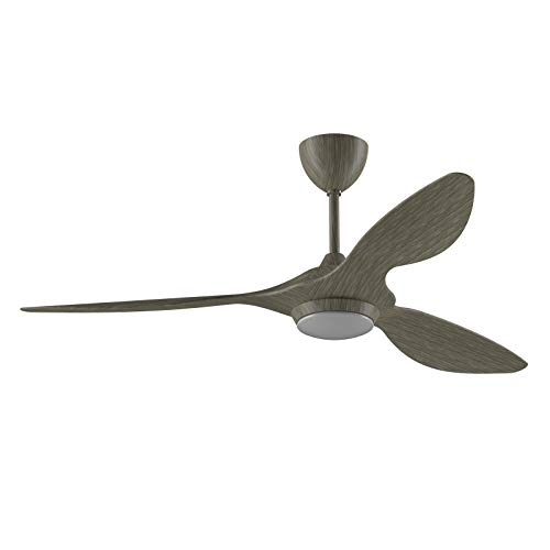 reiga 132CM Ceiling Fan with LED Light Kit Remote Control Modern Blade...