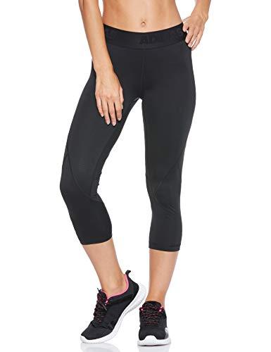 adidas Damen Alphaskin Sport 3/4 Tights, Black, XL