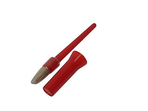 Bitz- Pincel para cascos con capuchón, rouge - Rouge