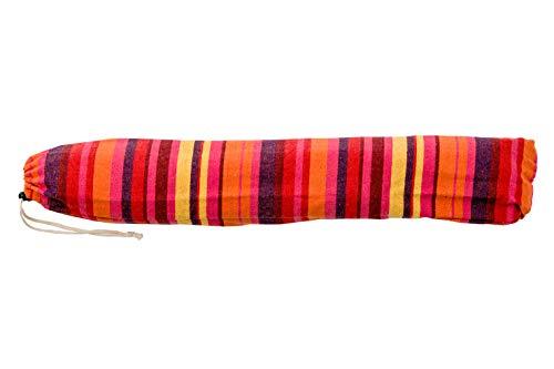 AMAZONAS Hängesessel wetterfest UV-beständig Relax Vulcano mit Querstab aus Holz 85 cm bis 120 kg buntgestreift - 2