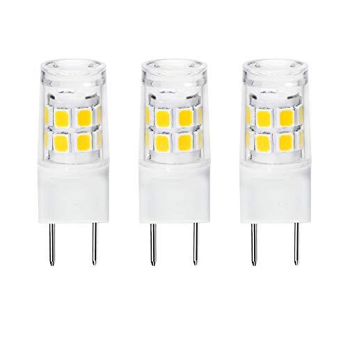 ETHT G8 LED Light Bulb 2.5 Watts Daylight White - G8 Base Bi-pin Xenon JCD Type LED 120V 20W Halogen Replacement Bulb for Under Counter Kitchen Lighting.Pack of 3 (G8 Base Daylight 3PCS)