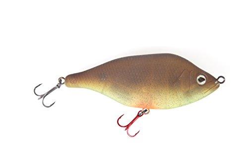Fox Rage Hitcher Jerk & Twitch Wobbler Jerkbait schwimmend, Länge:8cm;Farbe:Brown Pepper