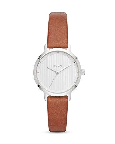 DKNY Damen Analog Quarz Uhr mit Leder Armband NY2676