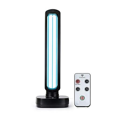 LPing UV-Keimtötungslampe,tragbare Haushaltsdesinfektionslampe,UV-Ozon,Formaldehydentfernung gegen Milben,Sterilisationsrate 99,99%,saubere Luft (mit Fernbedienung)
