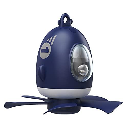 Gazechimp Avión de Dibujos Animados Ventilador de Techo Lámpara de Noche Lámpara de Noche Colgante Dormitorio Interior