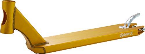 Scooter Apex Stunt Pro - Tabla de ejercicios (49 cm), color dorado