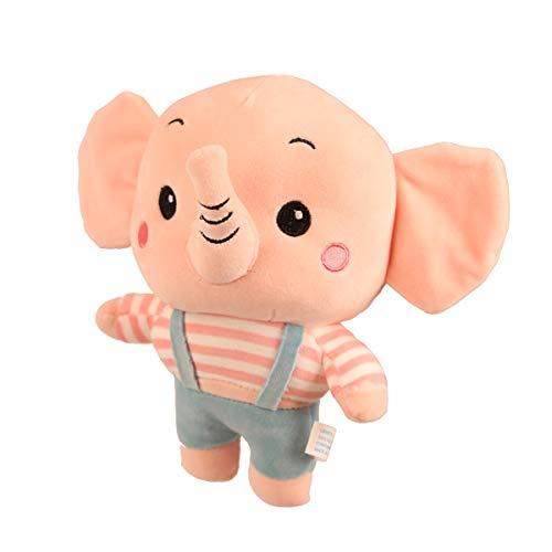 Boosns Peluche Elefante pequeño Los Amantes del Animal de Peluche Elefante (Masculino)