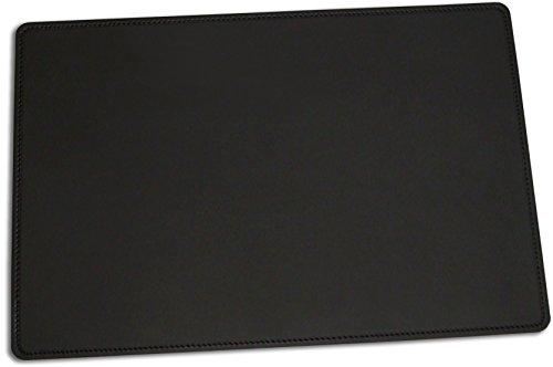 Team Beust Schreibunterlage Schreibtischunterlage echt Leder schwarz 60 x 40 cm Rindnappaleder