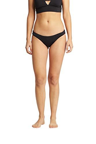 Billabong Women's Classic Lowrider Bikini Bottom, Black Pebble, M