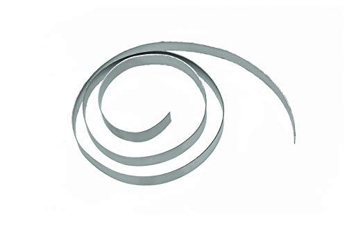 fuxus® Nitinol Metallstreifen 5mm x 400mm Formgedächtnis Legierung Metallband Shape Memory Alloy