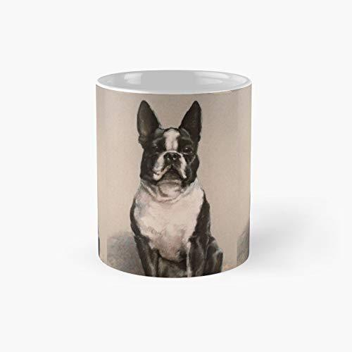 Taza clásica Boston Terrier   El mejor regalo divertidas tazas de café de 325 ml