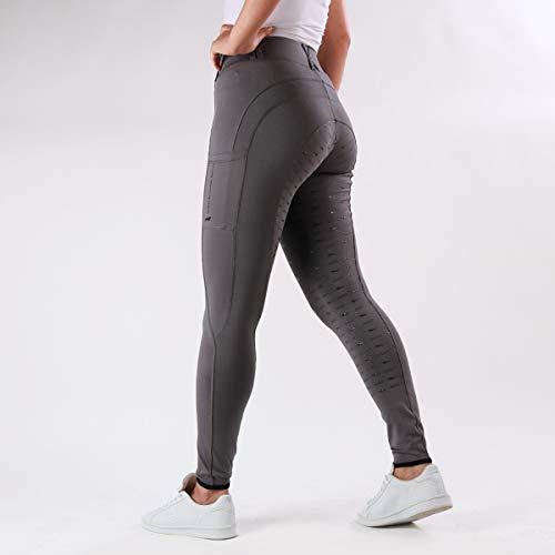 Schockemöhle Damen Reitleggins Reithose Tights Style Bequeme Damenreithose Größe 34