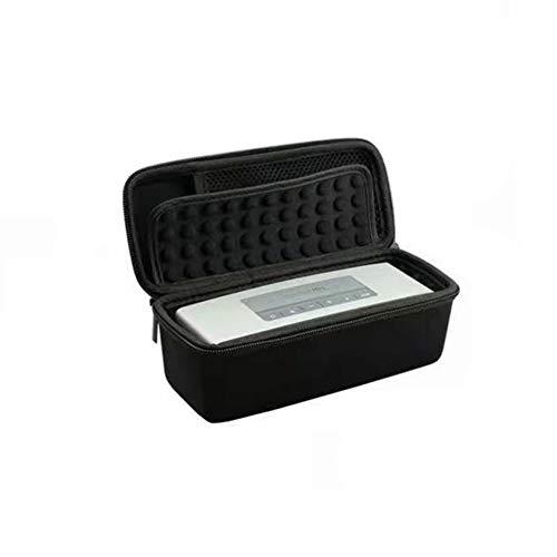Longhui Estuche para JBL Flip 5, Funda rígido portátil con Cremallera EVA para Bose Soundlink Mini I y Mini II y JBL Flip 1/2/3/4/5 Altavoz Bluetooth (Black)