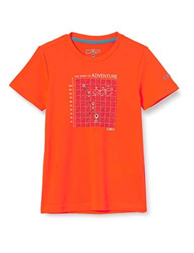 CMP T-Shirt pour garçon 38t6744 S Orange Flash