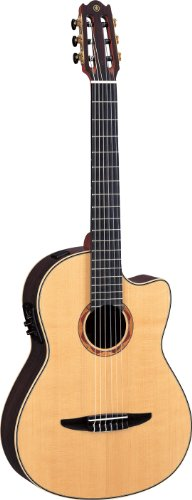 Yamaha NCX2000R Acoustic-Electric Classical Guitar, Solid Rosewood