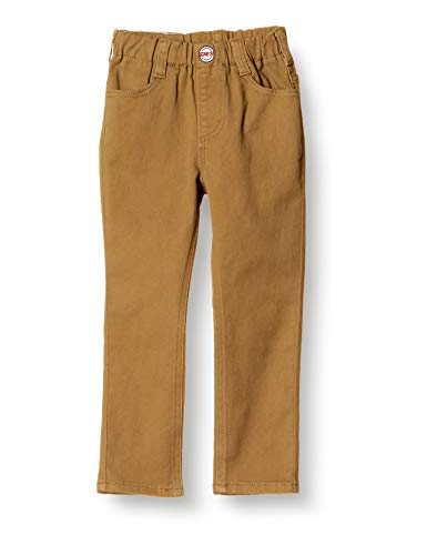 [エドウィン] ジーンズ [どんな服にもあう]キッズ レギュラーストレートパンツ(ストレッチ) 【80~130cm】ETB03 ダークベージュ 90