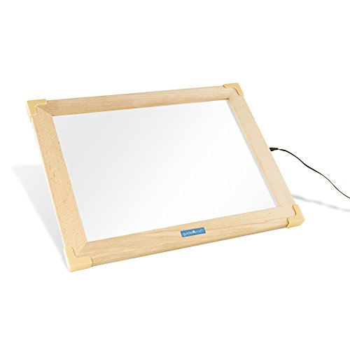 Guidecraft LED Activity Tablet (US) G16836US, White