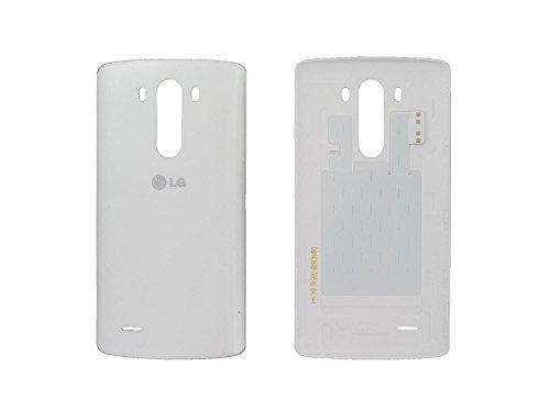LG G3 D855 Akku Cover Akkudeckel battery Schale Deckel NFC Antenne Original Neu white