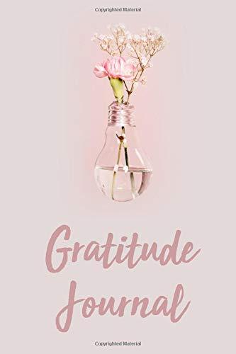 Gratitude Journal: Minimalist Pink Floral Gratitude Guide and Bullet Journal