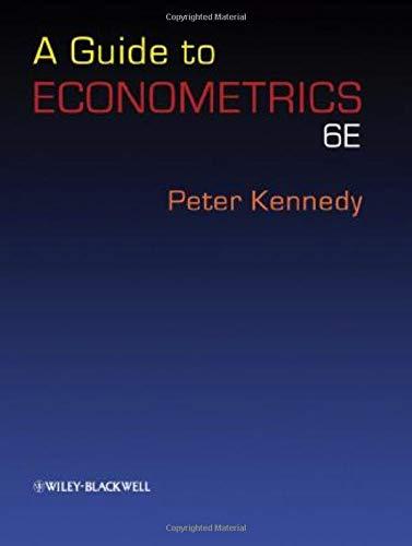 A Guide to Econometrics. 6th edition