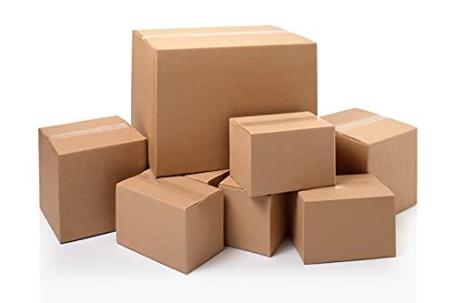 Scatole Cartone Trasloco 60x40x40 Scatoloni Imballaggio Spedizioni Cartoni Trasloco Scatoli per Pallet in cartone Ondulato Avana Leggere Solide e Resistenti - 10 pezzi - Made in Italy