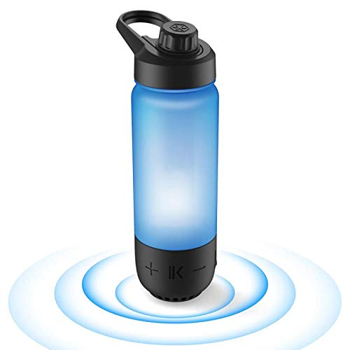ICEWATER 3-in-1 Smart Water Bottle(Glows to Remind You to Stay Hydrated)+Bluetooth Speaker+Dancing Lights,22 oz,Stay Hydrated and Enjoy Music,Perfect Gift