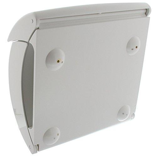 BURG WÄCHTER Kunststoff Briefkasten PIANO 886 weiß - 2
