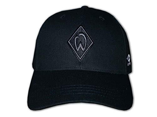 UMBRO Werder Cap Black on Black 3D