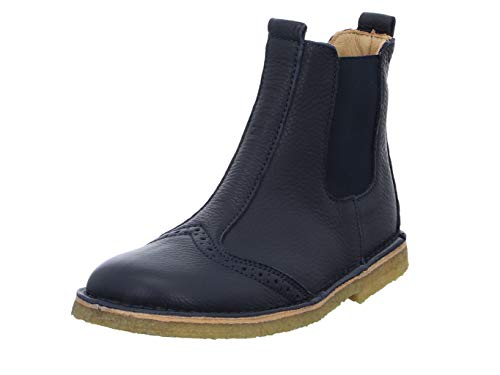 Bisgaard Unisex-Kinder Nori Chelsea Boots, Blau (Navy 600), 27 EU