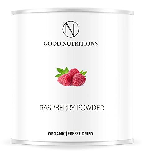 Lampone in Polvere - Liofilizzata|Biologica|vegano|crudo|pura frutta|no additivo|ricco di vitamine|Good Nutritions 120g