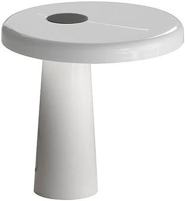 Martinelli Luce 824/BI Hoop-Lámpara de mesa de aluminio y de ...