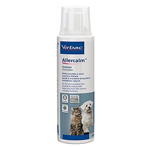 Virbac - Champú para Perros y Gatos allercalm 250 ml