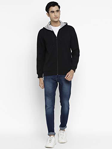 Alan Jones Clothing Men's Cotton Hooded Sweatshirt 5