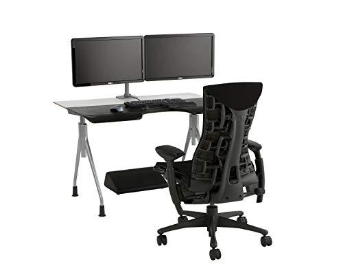 [正規品]ハーマンミラーエンボディチェアベース:グラファイトカラー/フレーム:グラファイトカラー/キャスター:カーペット用/ファブリック(リズム):ブラックCN122AWAAG1G1BB3014