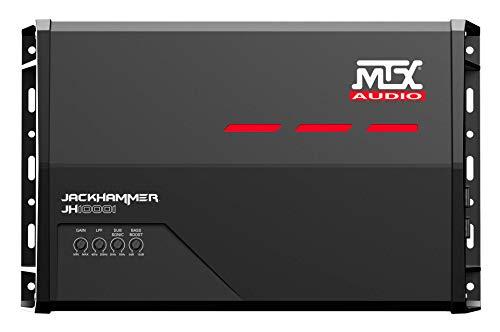 MTX Audio JH10001 Jackhammer Series 1000W Monoblock Class-D Car Audio Amplifier