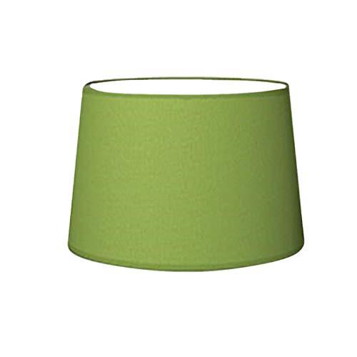 Lampenschirm Grün Lime Rund E27 für Tischlampe Stehlampe Ø 25 cm
